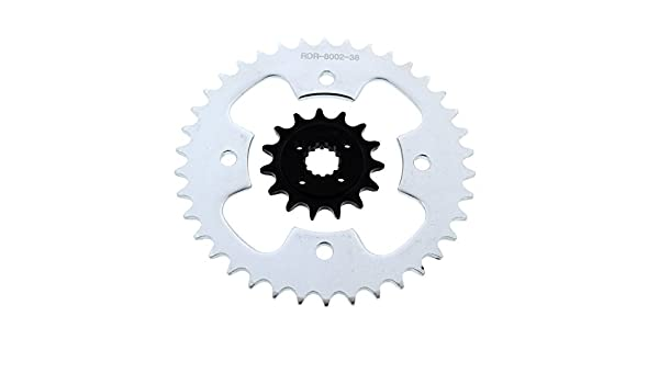 Pro X Grooved Ultralight Front Sprocket 15 Tooth for Suzuki LT-R 450 QUADRACER 2006-2009