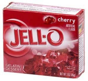 Jell-o Cherry Gelatin Dessert 3 Oz ()