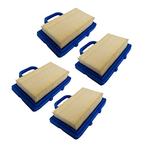 4PK Air Filter for Briggs & Stratton Intek V-Twin Engine B&S Cleaner 5408 791201 ()