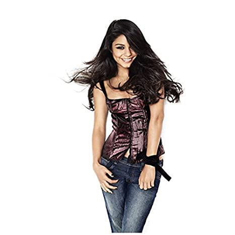 44999df77ae Vanessa Hudgens in Purple Corset Top and Jeans Thick Curled Hair Softly  Swirling Around Face 8 x 10 inch photo at Amazon s Entertainment  Collectibles Store