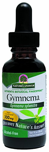 Gymnema Leaf (Nature's Answer Alcohol-Free Gymnema Leaf, 1-Fluid Ounce)