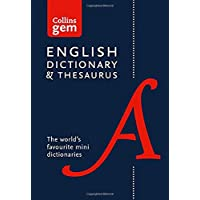 Collins English Gem Dictionary and Thesaurus (Collins Gem)
