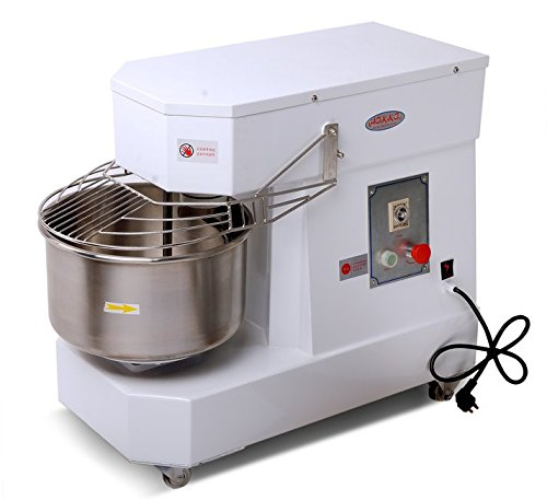 Hakka Commercial Dough Mixers 10 Quart Stainless Steel Spiral Mixers (DN10) by HAKKA BROTHERS