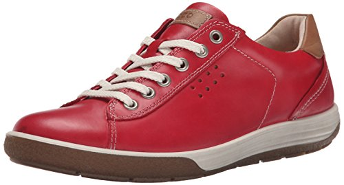 ECCO Footwear Womens Chase Tie Sneaker, Chilli Red, 39 EU/8-8.5 M US ()