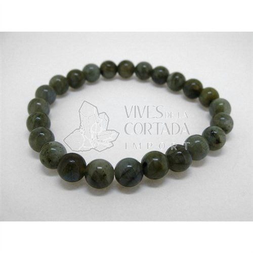 Bracelet Labradorite Balls of 8 mm Vives Cortada