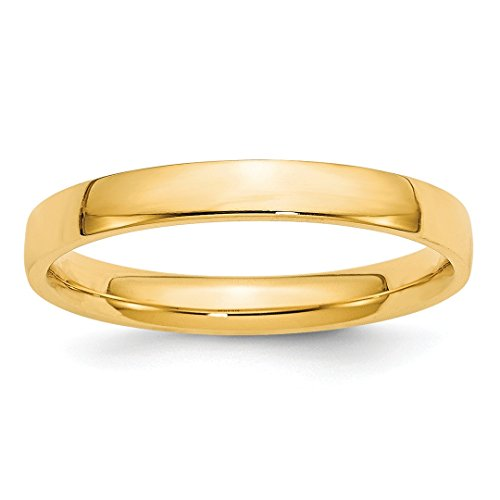 Ltw Comfort Fit Wedding Ring Band Size 7 Classic Fine Jewelry For Women Gift Set ()