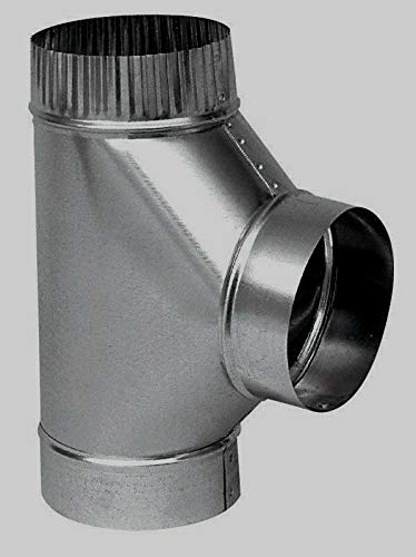 - Stove Pipe Furnace Pipe Full Flow Tee 6
