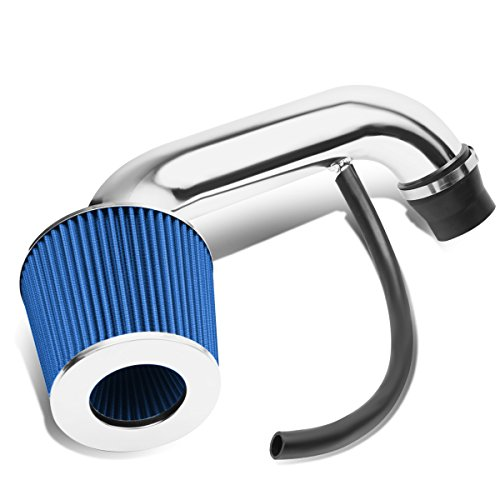Honda Blue Intake System - DNA Motoring ITK-0075-BL Blue Short Ram Air Intake+Filter System [01-05 Honda Civic]
