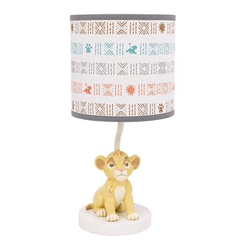 Lamp Disney Shades (Disney Baby Lion King Cirle of Life Lamp Base and Shade)