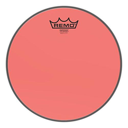 Remo Emperor Colortone Red Drumhead ,10