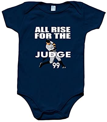 """The Silo NAVY Judge New York """"All Rise"""" Baby 1 piece"""