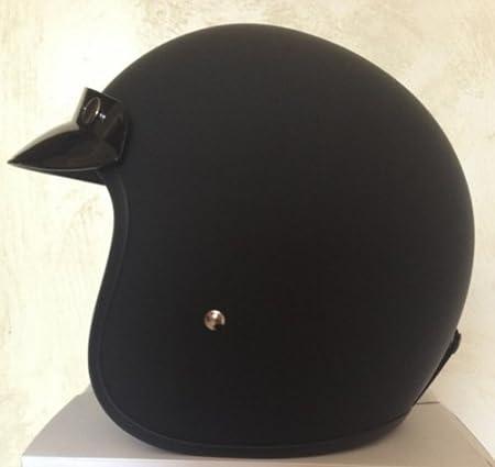 GZM Casco Jet similar al Bandit, pequeño y homologado, color negro M negro mate: Amazon.es: Coche y moto