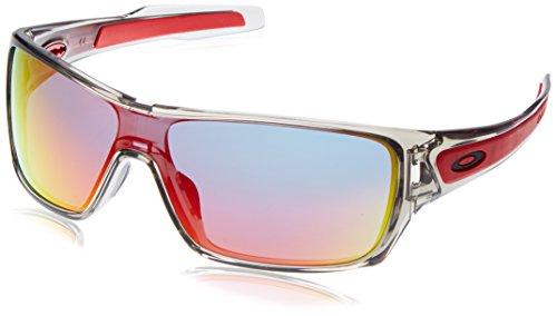 Sunglasses Women Oakley (Oakley Mens Turbine Rotor Sunglasses, Grey Ink/Ruby Iridium, One Size)
