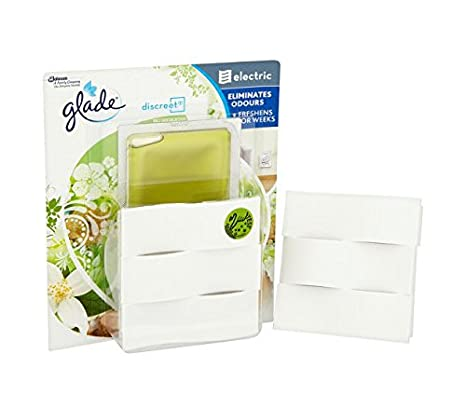 Glade Discreet Electric Holder Bali and Sandalwood 8 g (Pack of 4) Johnson