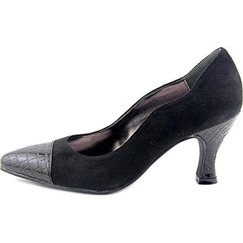 Femmes Zaza Black Chaussures Bellini Talons À microfiber dqX5vdgwx