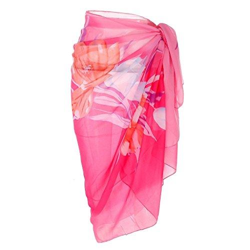 Ayliss Womens Swimwear Chiffon Cover up Beach Sarong Pareo Bikini Swimsuit Wrap,#6