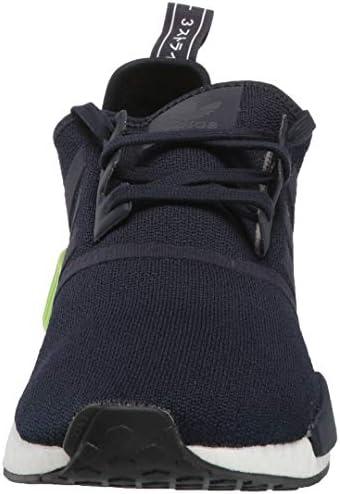 Adidas Originals NMD_r1 Chaussures de Sport pour Homme Core Black/Core Black/Energy Pink - Bleu - Legend Ink Legend Ink Hi Res Jaune, 41 EU