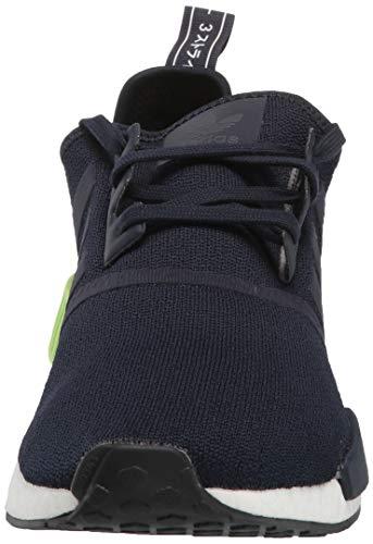 adidas Originals mens Nmd_r1 Running Shoe, Legend Ink/Legend Ink/Hi-res Yellow, 4 US