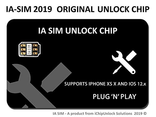 IA SIM 2019 Unlock CHIP Compatible with iPhone 5 - XS, Unlock AT&T, Verizon, Sprint, T-Mobile, Xfinity, Metro PCS, Boost, Cricket to Any World GSM Networks. DO NOT Support CDMA SIM Cards
