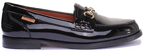 Justin Reece 8800 - Botas de Piel para mujer negro (black patent)