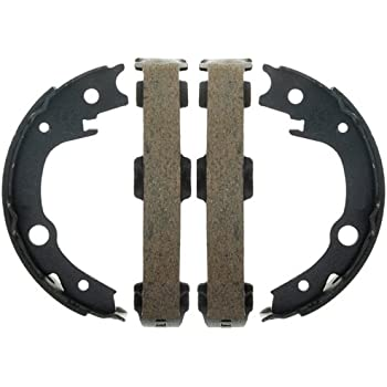 Raybestos 796PG Professional Grade Parking Brake Shoe Set Drum in Hat
