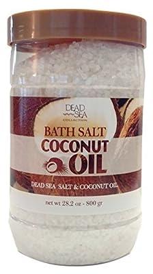 Dead Sea Collection Coconut Oil Bath Salt, 28.2 Oz