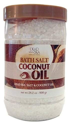collection coconut oil bath salt