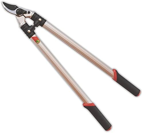 The Gardener s Friend Loppers, Bypass Action, 24 , Strong Lightweight Aluminum Handles with Ergonomic Rubberized Grips, for Pruning Trees, Shrubs, Roses, Perennials, Garden Tools