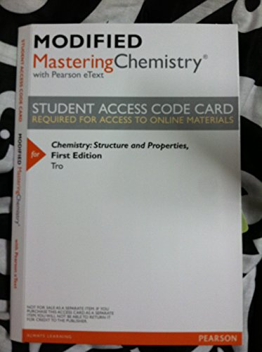 Chemistry:Structure+Properties Access