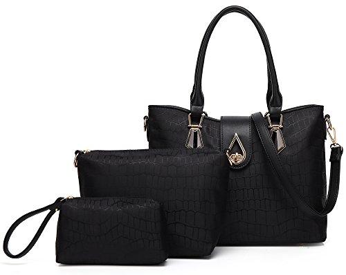 Women Shoulder Handbags and Purse 3 Piece Set Bags by KasPala
