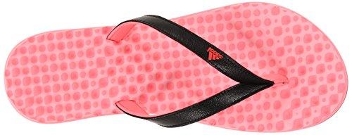 Adidas Performance Eezay Dots W Athletic Sandal,grey/white/flared,5 M Us Flash Red/Black/Light Flash Red