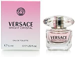 Versace Bright Crystal By Gianni Versace For Women. Eau De Toilette 0.17 Fl Oz Mini