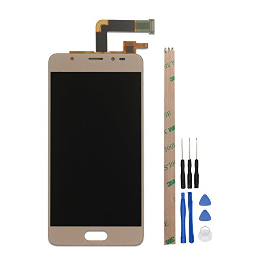 HYYT Replacement For BLU Life One X2 Mini Display LCD Display and Touch Screen Digitizer Glass Replacement with Opening tools (gold)