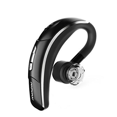 Mpow - Auricolare Bluetooth con microfono stereo compatibile con smartphone