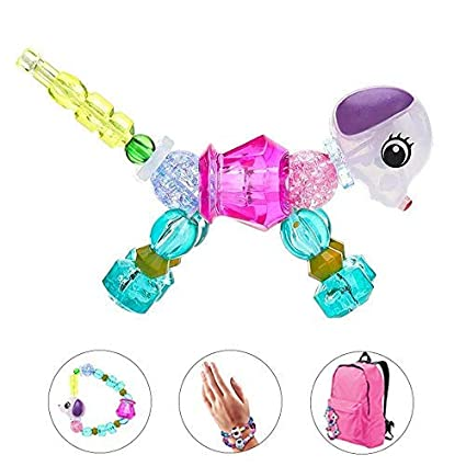 Womdee magique Pets Bracelets, coloré, Jewel,like Perles Bracelets pour les  filles SE