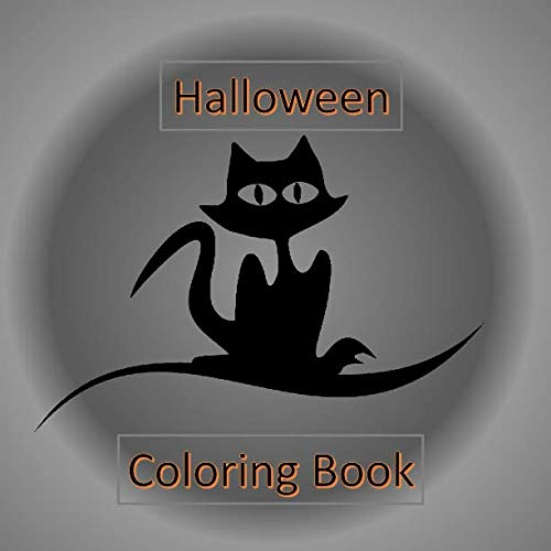 Halloween Coloring Book: