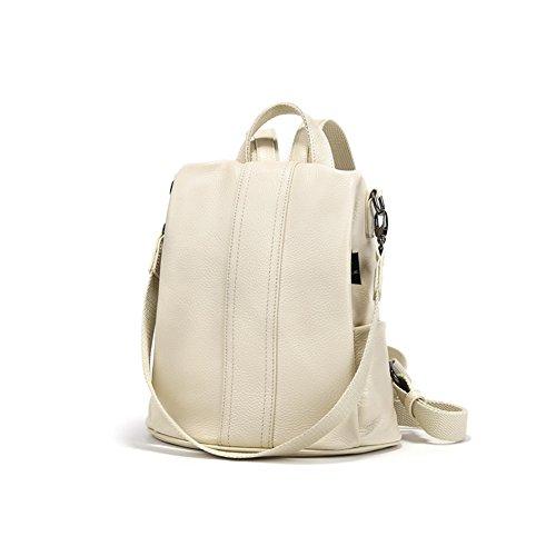 Mini bolso salvaje del hombro ,moda femenina suave mochila de cuero-B B