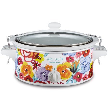 Pioneer Woman Flea Market Portable Slow Cooker 6 Quart