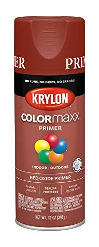 - Krylon K05583007 COLORmaxx Spray Paint, Aerosol, Red Oxide