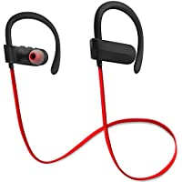 oemheadphone MK001 Bluetooth Headphones, Noise Cancelling, Wireless Bluetooth Earbuds with Mic/Microphone, HD Stereo, Sweat proof Protection for Running, Gym, Workout, Sport