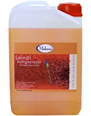 Leinöl für Tiere, kaltgepresst, 100% rein, 3000 ml Kanister