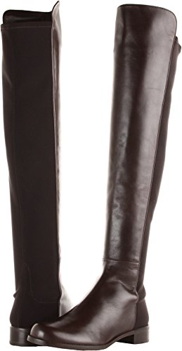 Stuart Weitzman Damen 5050 Over-the-Knee Boot Cola Nappa