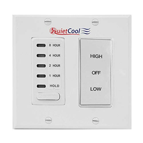 (Quietcool Timer Control Kit for 2 Speed Cool Whole House Fan Models | IT-KIT-2 )