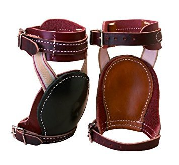 Weaver Leather Skid Boots Horse Brown