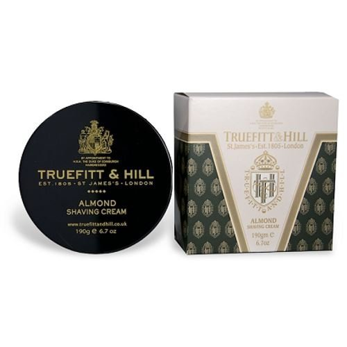 Almond Shaving Cream 190g/6.7oz by Truefitt & Hill