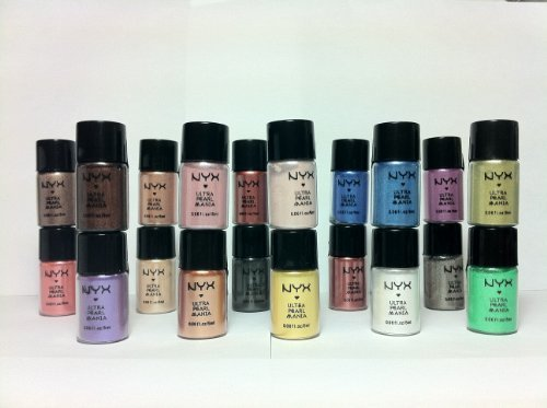 NYX Loose Pearl Eyeshadow Pigment 20 Assorted Colors