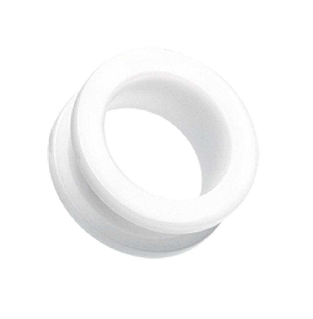Freedom Fashion Basic Acrylic Screw-Fit Ear Gauge Tunnel Plug Sold Pair