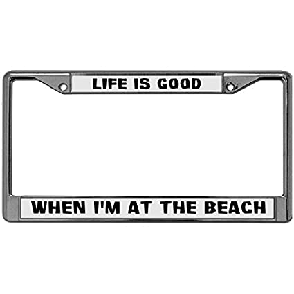 Amazon.com: GND Personalized License Plate Frames TAKE THIS IT\'S ...