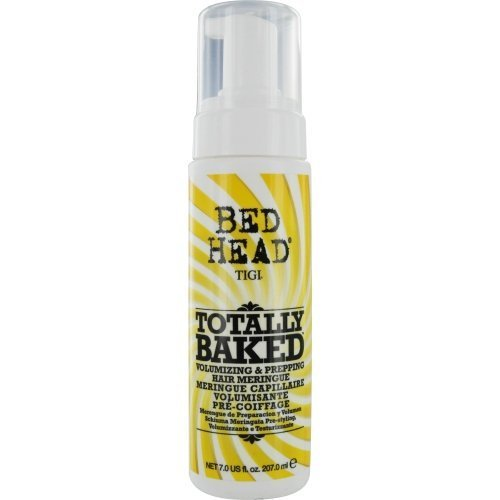 BED HEAD by Tigi CANDY FIXATIONS TOTALLY BAKED VOLUMIZING & PREPPING HAIR MERINGUE 7 OZ ( Package Of 2 )