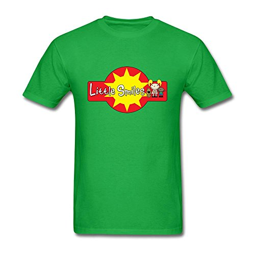 Ymrcosdo Men's Little Smiles 4 Color Logo T Shirt Forest Green - Luck Your Own Make Sticker